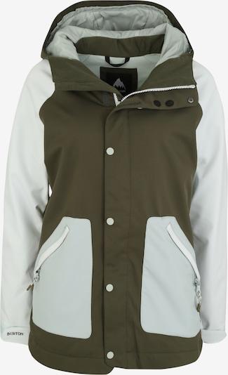 BURTON Wintersportjacke 'Eastfall' in hellblau / khaki / weiß, Produktansicht
