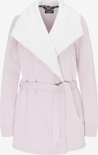 DREIMASTER Sweatjacke in rosa / weiß, Produktansicht