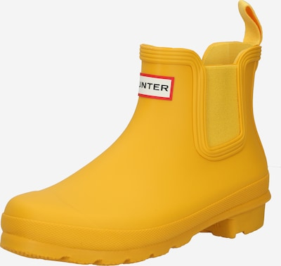 HUNTER Gummistiefel in gelb, Produktansicht