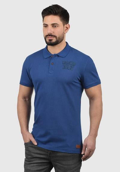 BLEND Poloshirt 'Tadeus' in blau: Frontalansicht