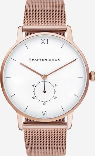 Kapten & Son Uhr 'Heritage' in rosegold, Produktansicht