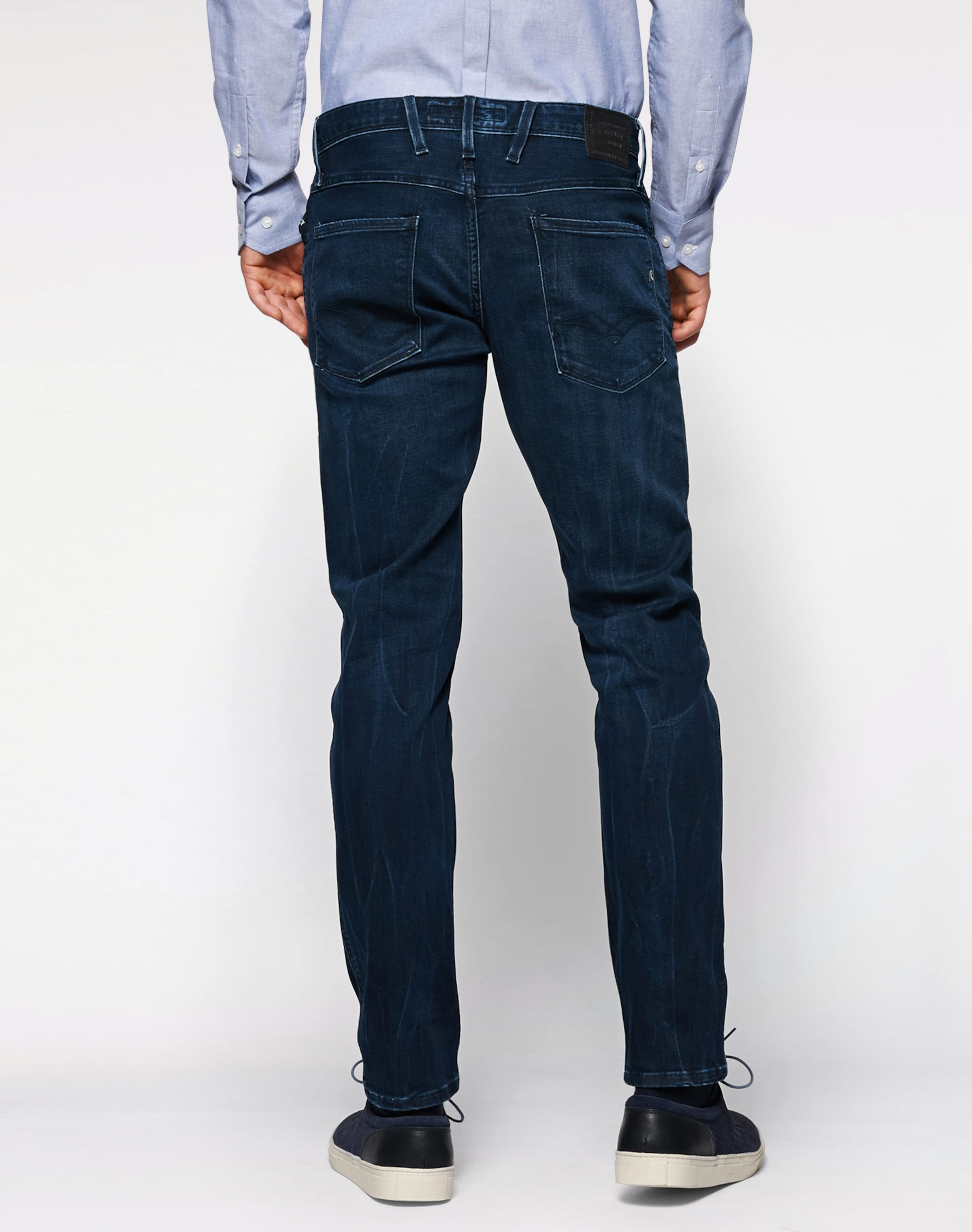 REPLAY Jeans im Used-Style 'Anbass' Günstige Kaufladen PJIqtPA