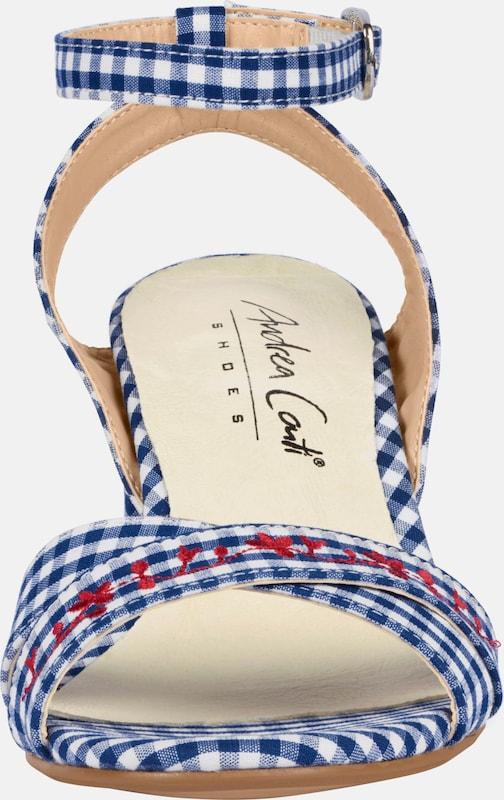 Andrea Accounts Sandalette Mit Stickerei