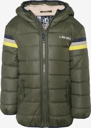 LEMON BERET Winterjacke in enzian / gelb / grau / khaki, Produktansicht