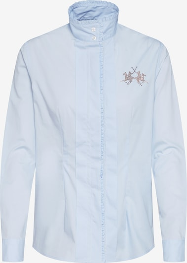 Bluză La Martina pe albastru, Vizualizare produs