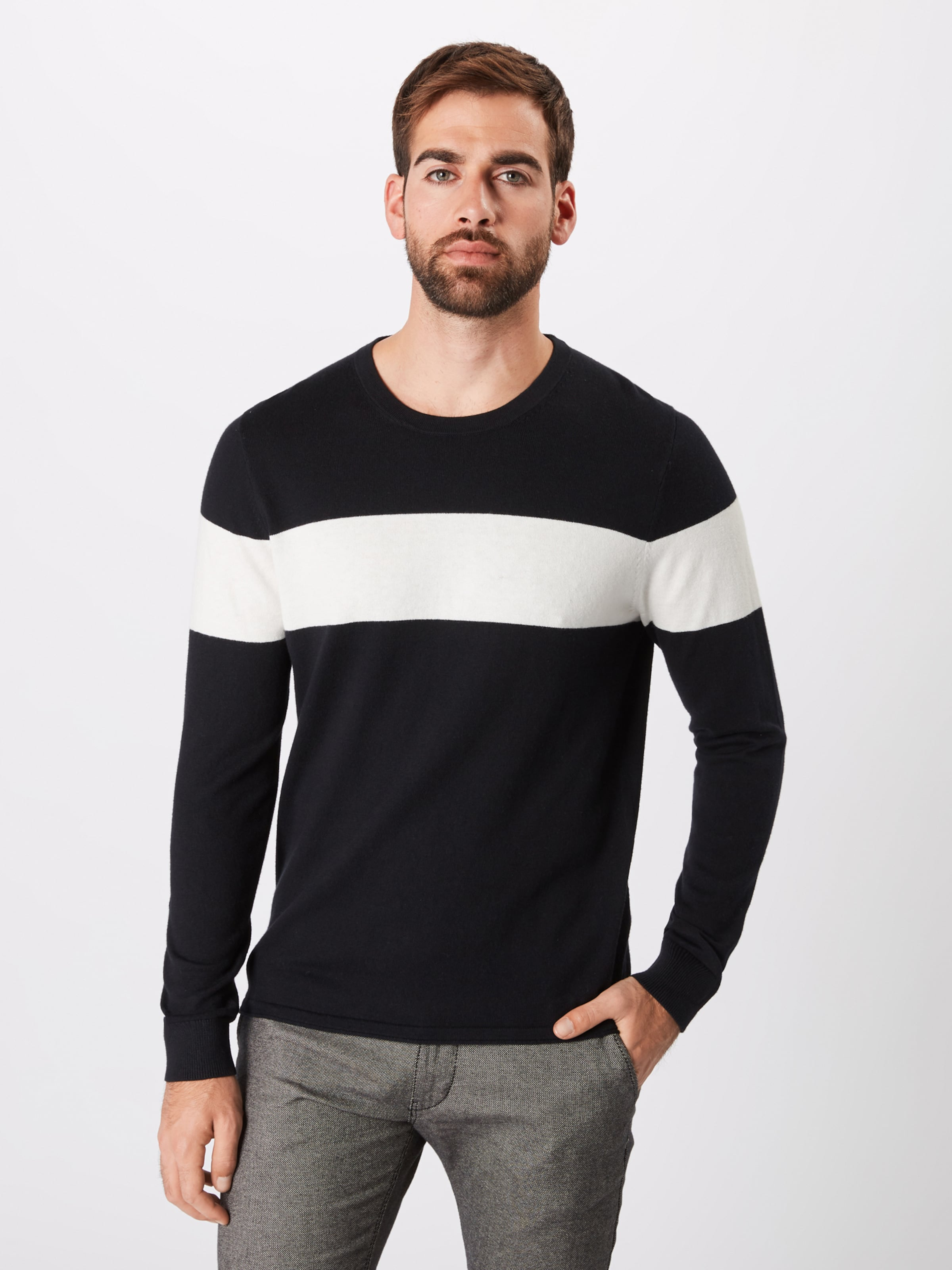 'clin' Pullover 'clin' Drykorn In Pullover In Drykorn Pullover Drykorn In 'clin' SchwarzWeiß SchwarzWeiß vwOyNP8n0m