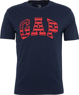 GAP T-Shirt 'V-SS FLAG OUTLINE ARCH'