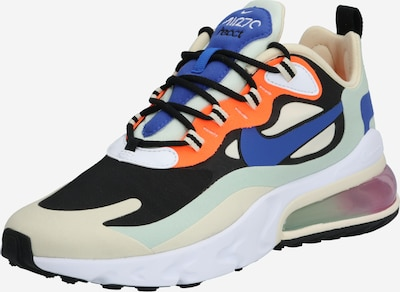 NIKE Sneaker 'Air Max 270 React' in mint / orange / schwarz / weiß, Produktansicht