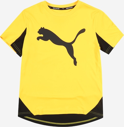 PUMA T-Shirt fonctionnel 'Active Sports Cat Graphic' en jaune, Vue avec produit