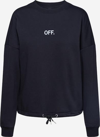 Merchcode Sweat-shirt en noir / blanc, Vue avec produit