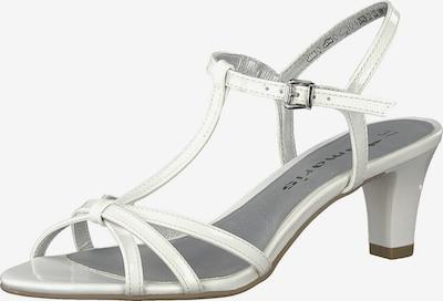 TAMARIS Remienkové sandále - biela, Produkt