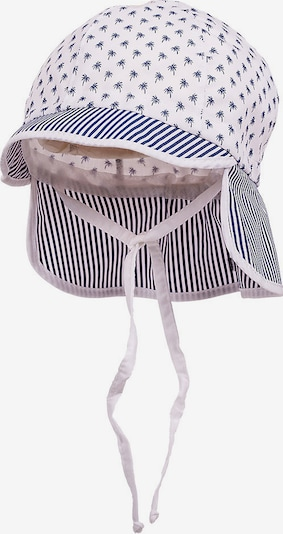 MAXIMO Schirmmütze mit Nackenschutz zum Binden in weiß, Produktansicht
