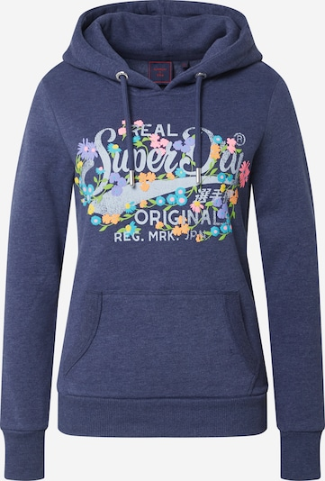 Superdry Sweter w kolorze nakrapiany niebieski / mieszane kolorym, Podgląd produktu