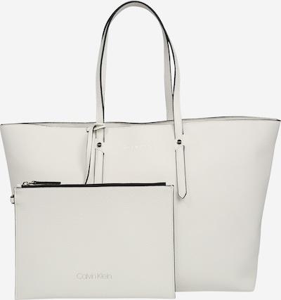 Calvin Klein Nakupovalna torba 'EVERYDAY' | bela barva, Prikaz izdelka
