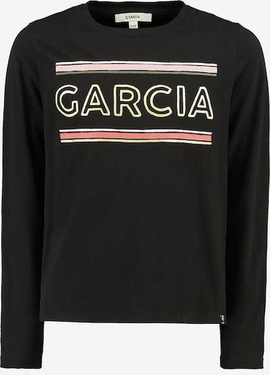 GARCIA Shirt in gold / rosa / melone / schwarz, Produktansicht