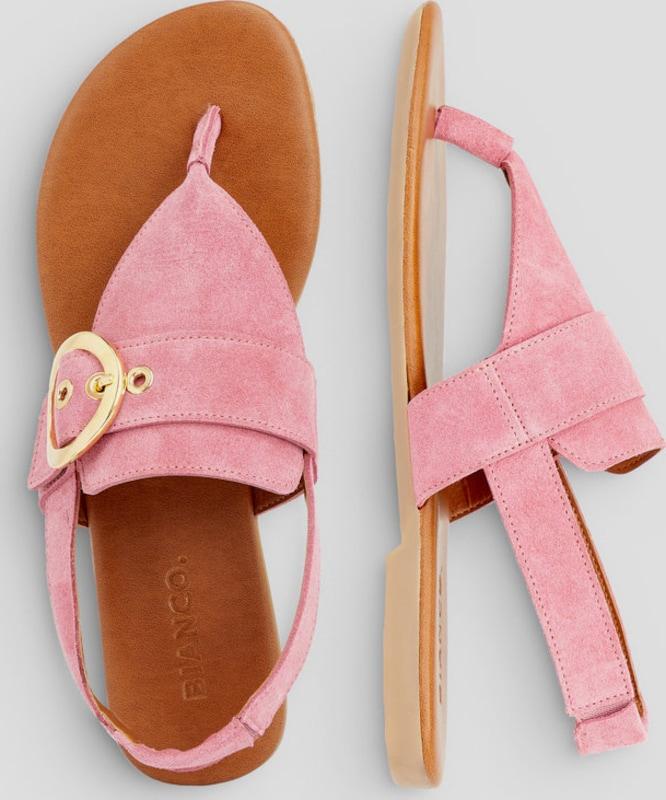 Haltbare Mode billige Schuhe Bianco | Runde Schnallen Sandalen Sandalen Sandalen Schuhe Gut getragene Schuhe 18b48c