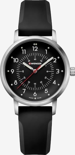 WENGER Uhr 'Avenue' in schwarz / silber, Produktansicht