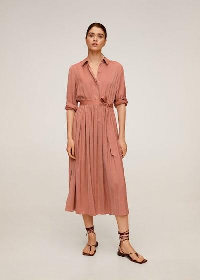 MANGO Kleid pink in pink, Modelansicht