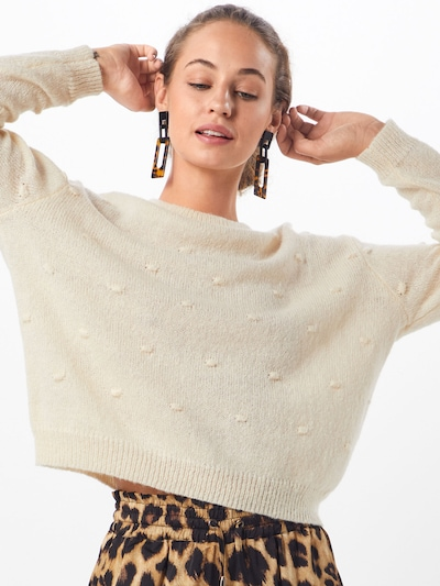 MOSS COPENHAGEN Pullover 'Junea' in creme, Modelansicht
