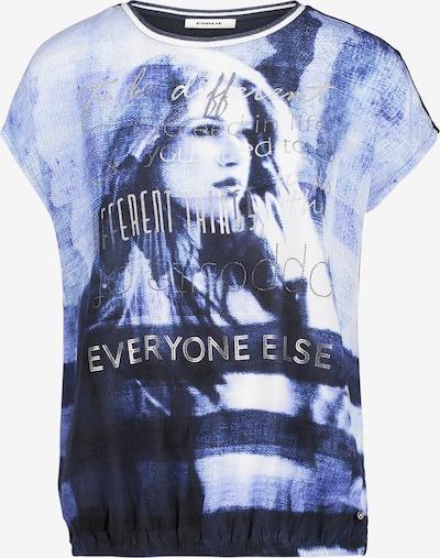 Public Shirt in blau / weiß, Produktansicht