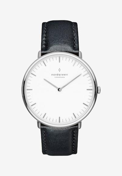 Nordgreen Armbanduhr in schwarz / silber, Produktansicht