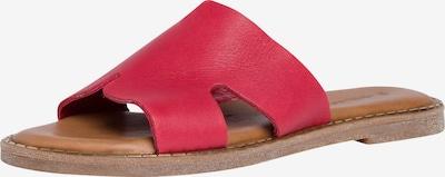 TAMARIS Pantolette in braun / grenadine, Produktansicht