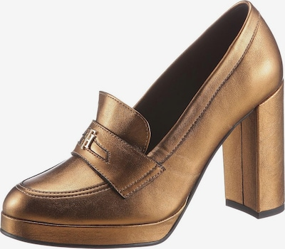 TOMMY HILFIGER Pumps in gold, Produktansicht