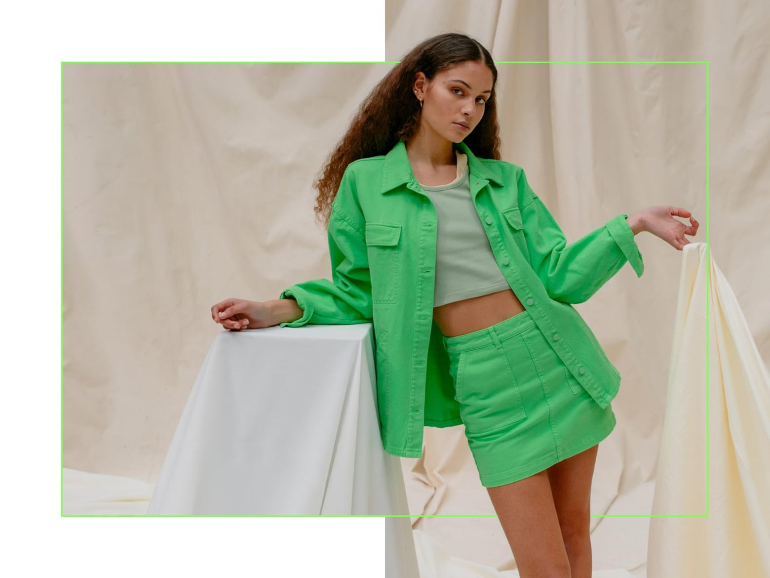 Ilana - Bright Green Look