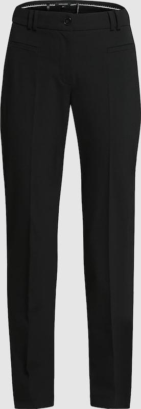 MORE & MORE Hose mit Bügelfalte 'Hedy' in schwarz  Neue Kleidung in dieser Saison