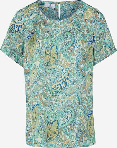 Peter Hahn 'Blusen-Shirt' in grün / mischfarben, Produktansicht