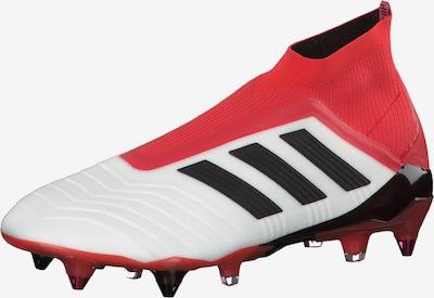 ADIDAS PERFORMANCE Fußballschuhe 'Predator 18+ SG' in rot / weiß, Produktansicht