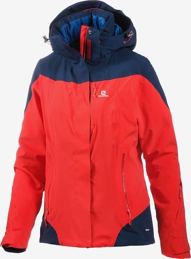 SALOMON Jacke in blau / rot, Produktansicht