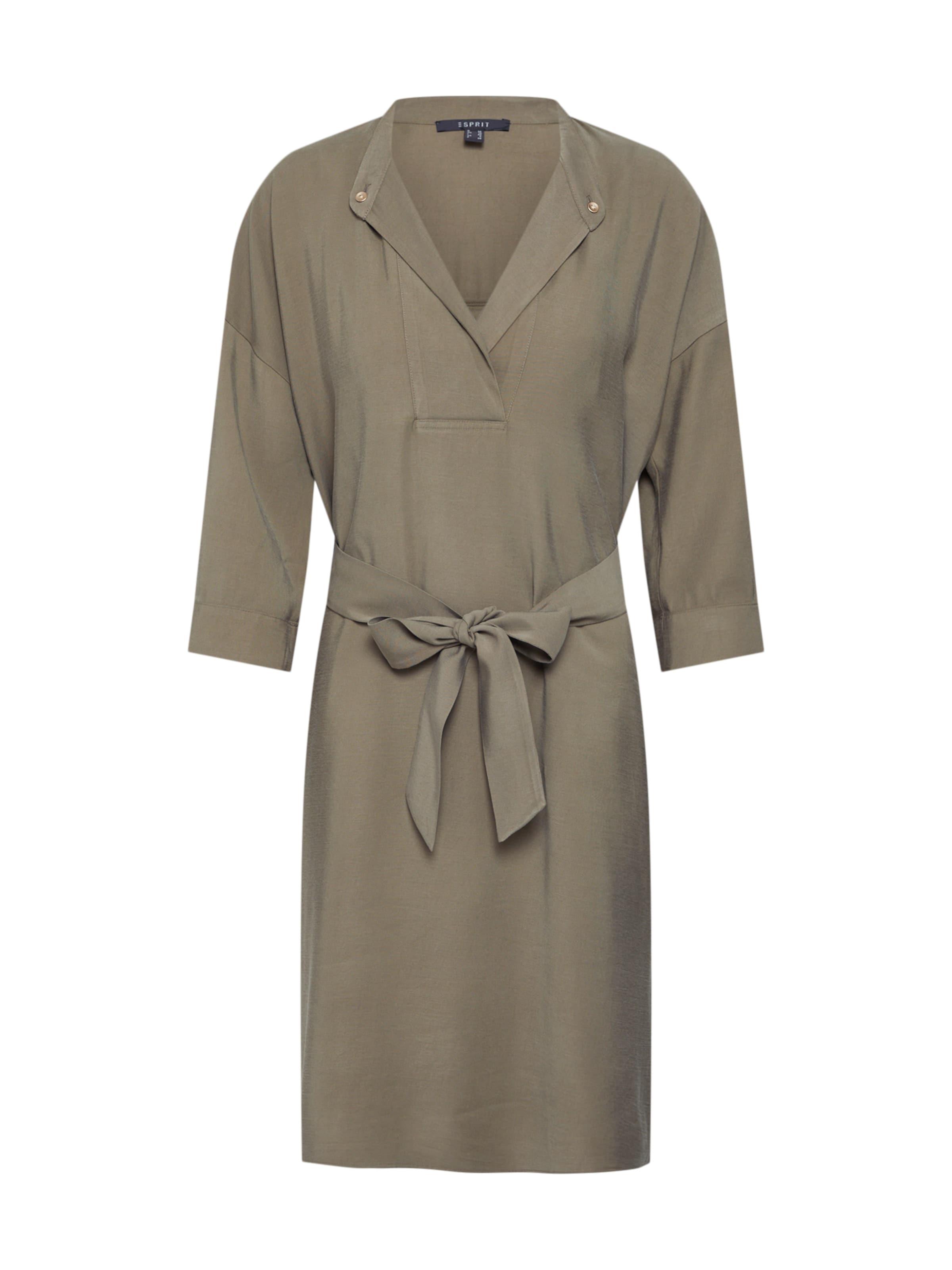 DamenKleider In Rayon Collection Khaki 'fluid Esprit Mix' 5q3ALc4jSR