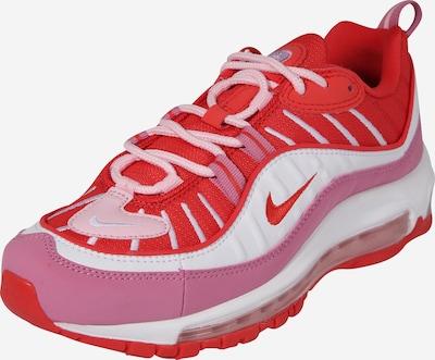 piros / fehér Nike Sportswear Rövid szárú edzőcipők 'Air Max 98', Termék nézet