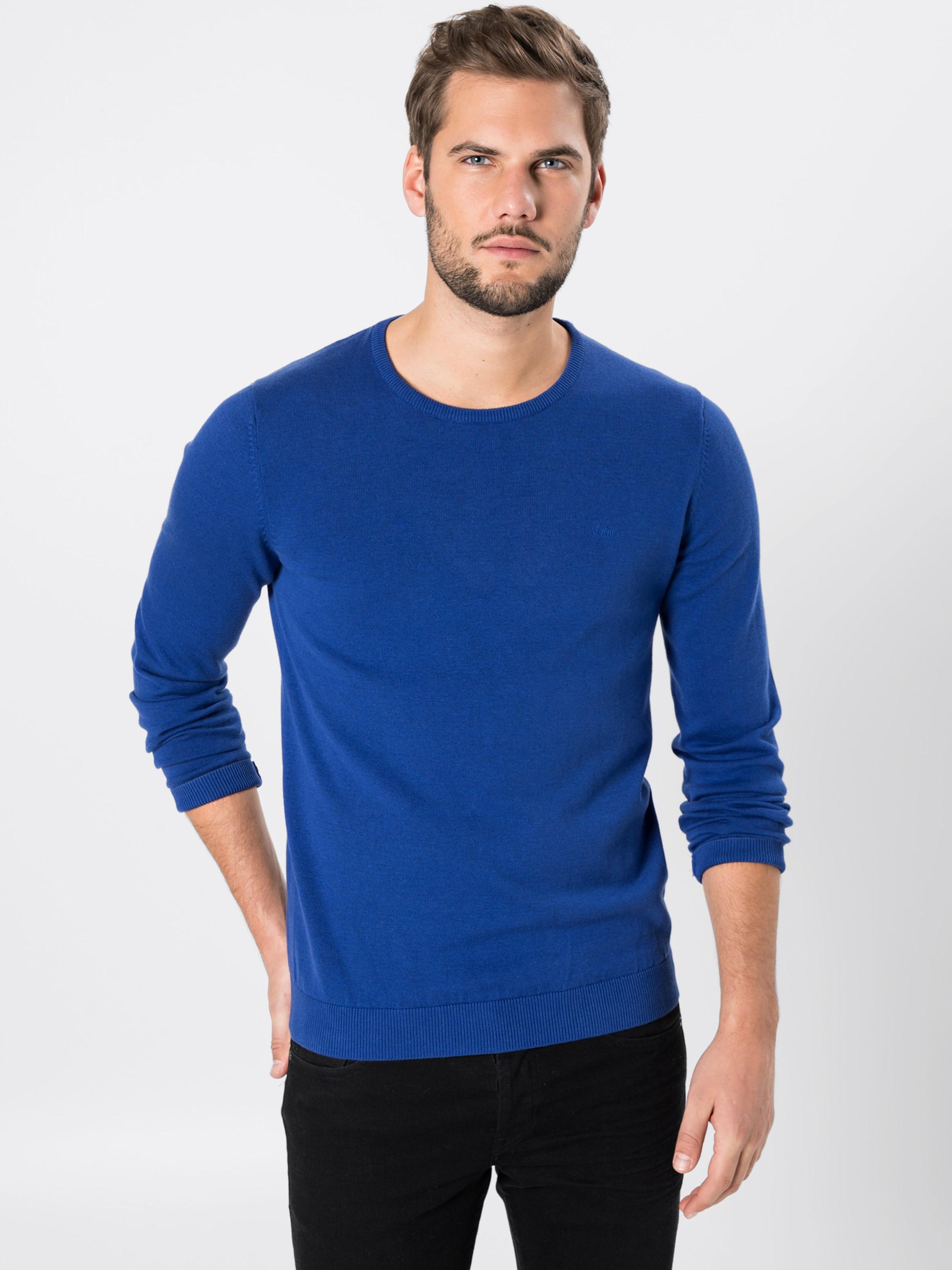 S S oliver In S Pullover In oliver Blau Pullover Blau PZuOkiXTwl