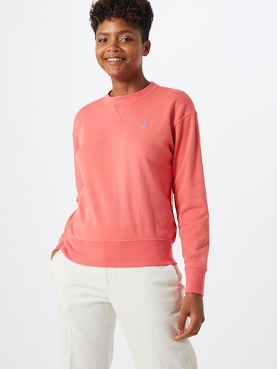 POLO RALPH LAUREN Sweat-shirt en rouge pastel: Vue de face