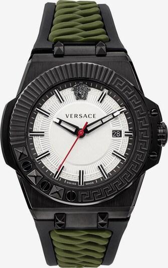 VERSACE Uhr 'Chain Reaction, VEDY00419' in khaki / schwarz, Produktansicht