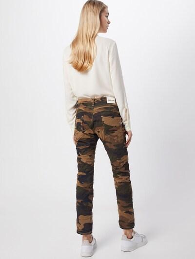 PLEASE Jeans in mischfarben: Rückansicht