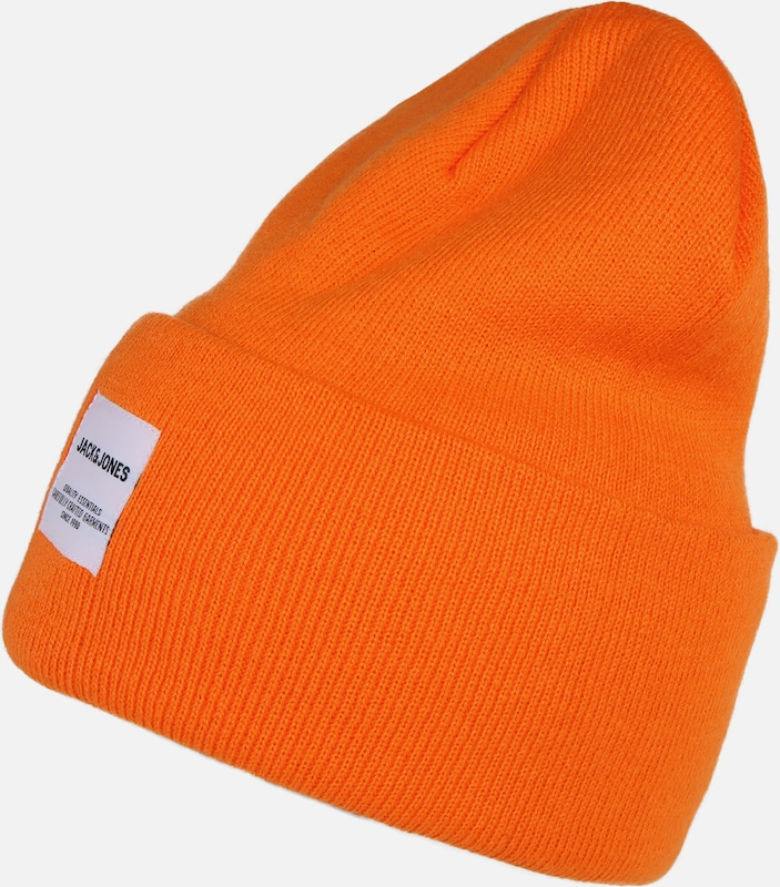 JACK & JONES Mütze in orange, Produktansicht