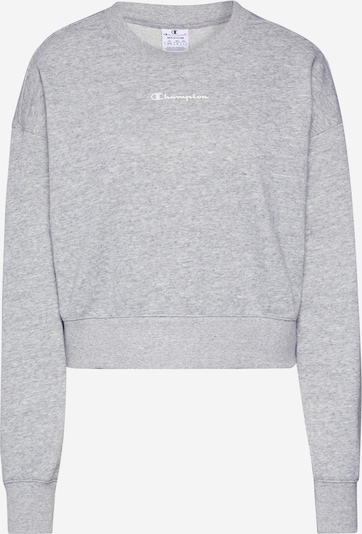 Champion Authentic Athletic Apparel Sweat de sport en gris, Vue avec produit