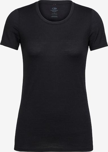 Icebreaker T-shirt fonctionnel en noir, Vue avec produit