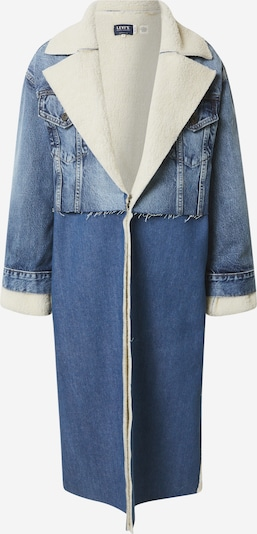 Levi's Made & Crafted Mantel in creme / blue denim, Produktansicht