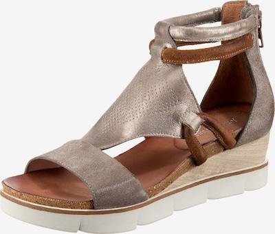 JOLANA & FENENA Sandaletten in hellgrau, Produktansicht