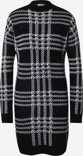 Noisy may Kleid 'SQUARE' in schwarz / weiß, Produktansicht