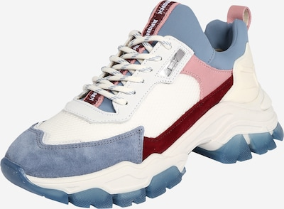BRONX Sneakers 'Tayke-Over' in blau / pink / blutrot / offwhite, Produktansicht