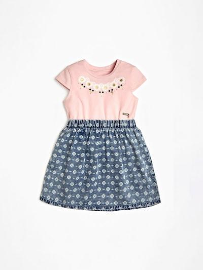 GUESS KIDS Kleid in blau / rosa, Produktansicht