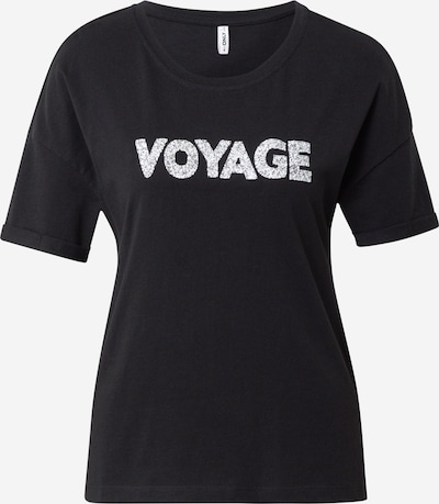 ONLY Shirt in schwarz / weiß, Produktansicht