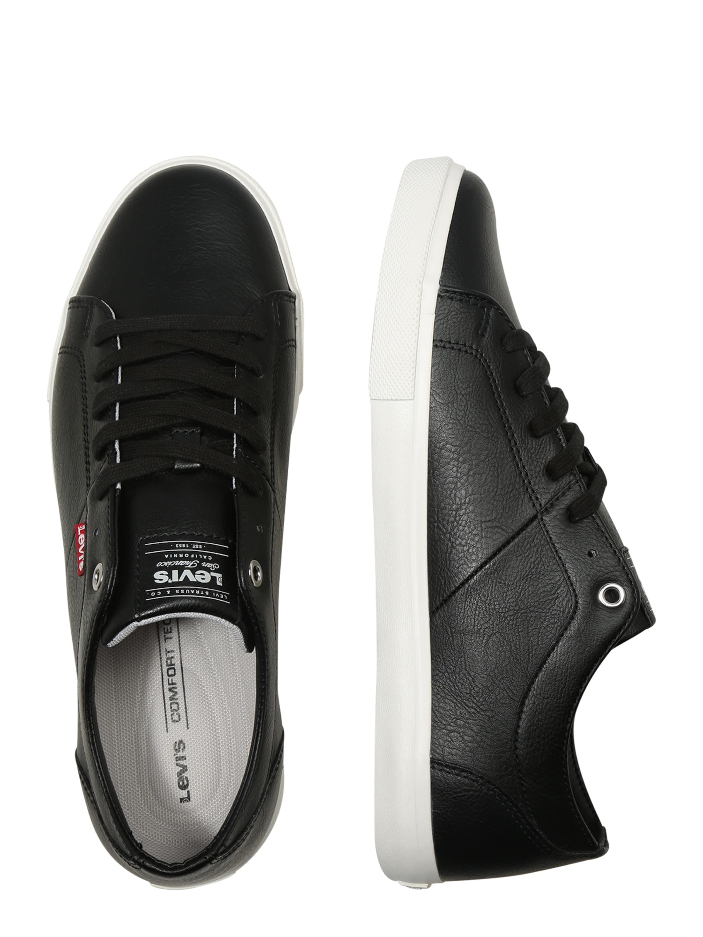 Levi's In Sneaker Schwarz 'woods' D92YEHIW