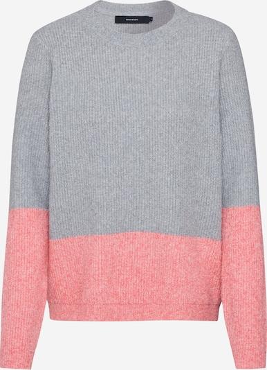 VERO MODA Pullover in grau / rosa, Produktansicht