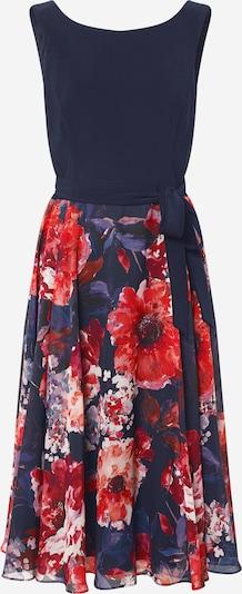 Vera Mont Kleid in dunkelblau / mischfarben / orangerot, Produktansicht